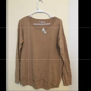 New Tan Cashmere- like Sweater